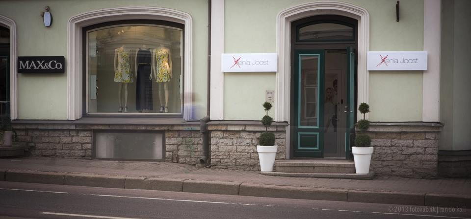 Xenia Joost avas vanalinnas esinduskaupluse