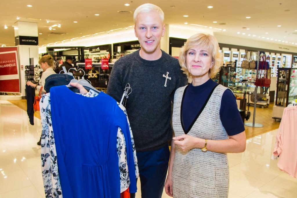 Debenhams loosis välja privaatse 500 eurose šhopingu koos Ženja Fokiniga