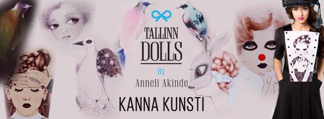 Tallinn Dolls by Anneli Akinde