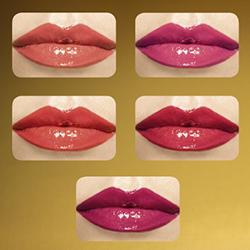 Oriflame luksuslik Giordani Gold Iconic vedelhuulepulk on saadaval 5 toonis 2