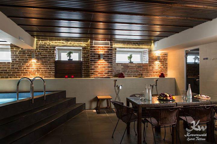 HEA PAKKUMINE! 3-tunnine privaatsauna rent kuni 8-le Kreutzwald Hotel Tallinnas -72%