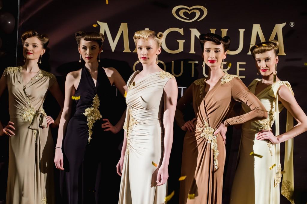 Tiina Talumees disainis jäätisebrändist Magnum inspireeritud minikollektsiooni