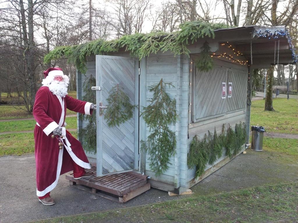 jõuluvana maja