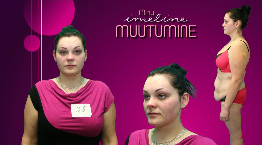 IMELINE MUUTUMINE! Noor naine teeb telesaates läbi uskumatu muutumise