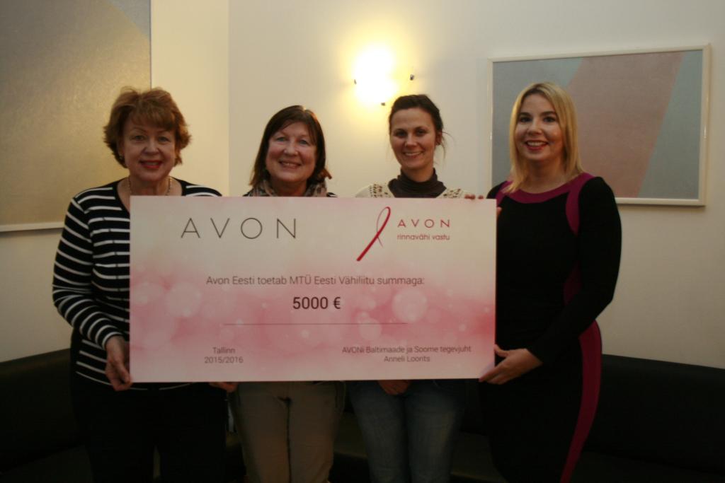 MILJARD DOLLARIT! Avon annetas miljard dollarit rinnavähi ja perevägivalla vastaseks võitluseks