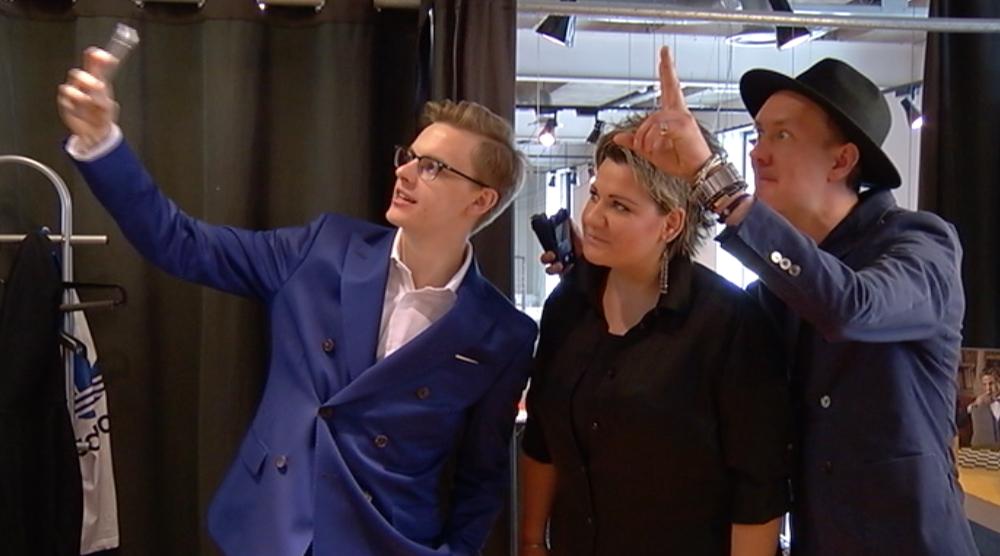 KUIDAS MEELDIB? Jüri Pootsmann kannab Eurovisioonil ligi 1000 eurot maksvat ekstravagantset käsitööülikonda!