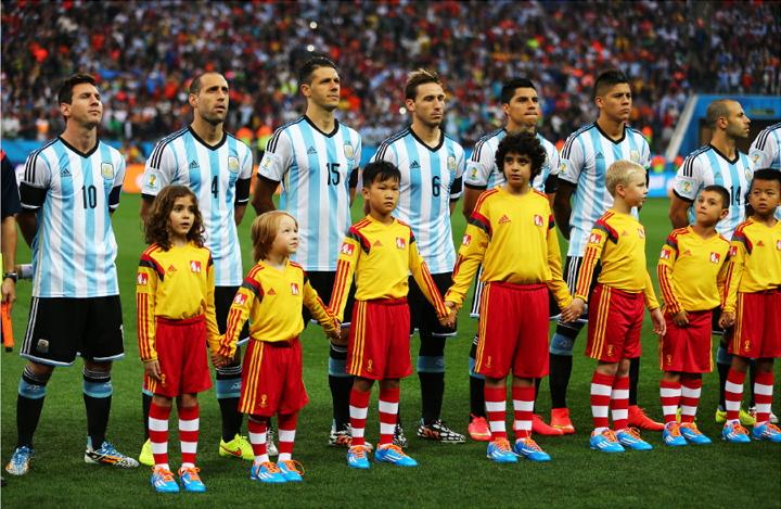 Lukas Elo FIFA MMil 2014. aastal (vasakult teine)