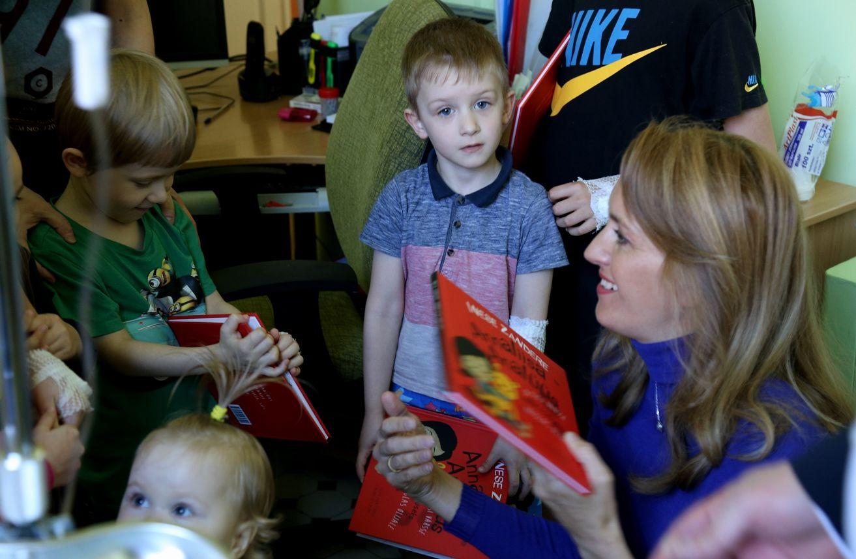 GALERII! Ieva Ilves Narva haigla lasteosakonnas: on hea ja õige, et lapsed saavad kodulinnas tasemel ravi