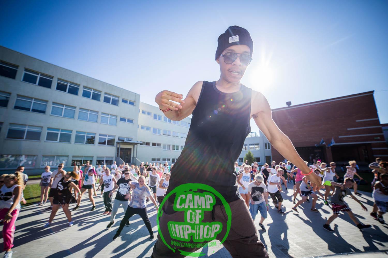 CAMP OF HIP-HOP! Tantsulaagrisse saab ka üheks päevaks minna