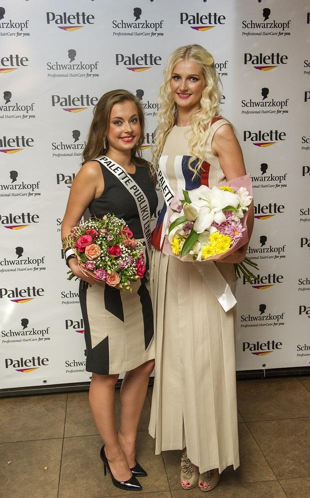 Publiku lemmik ja Miss Palette 2016 Foto: Vallo Kruuser