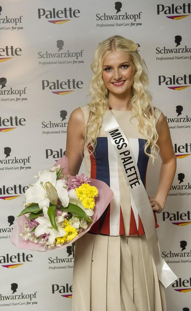 MISS PALETTE! Schwarzkopfi Miss Palette tiitli võitis Merilyn Saksing