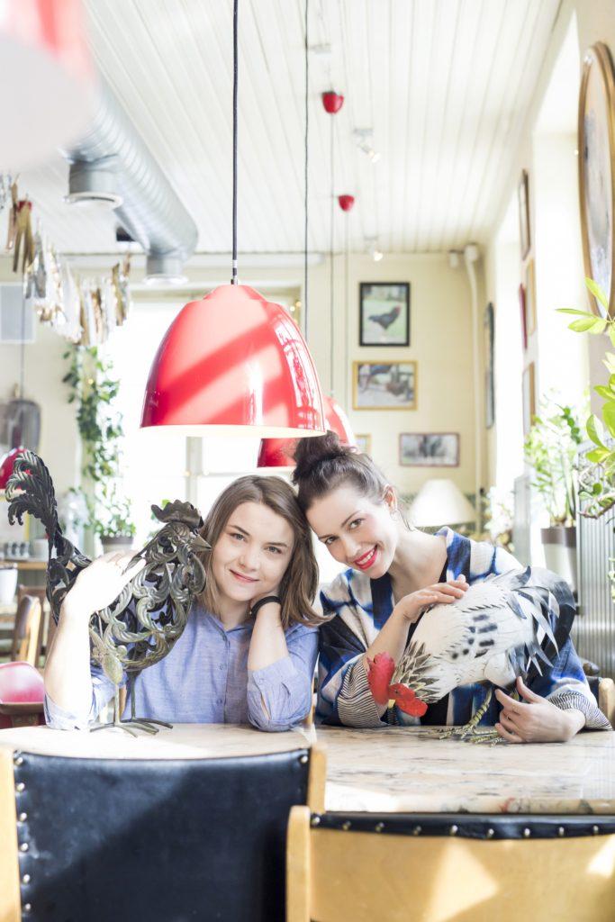 Moonika Maidre ja Merle Liivak Foto: Krõõt Tarkmeel