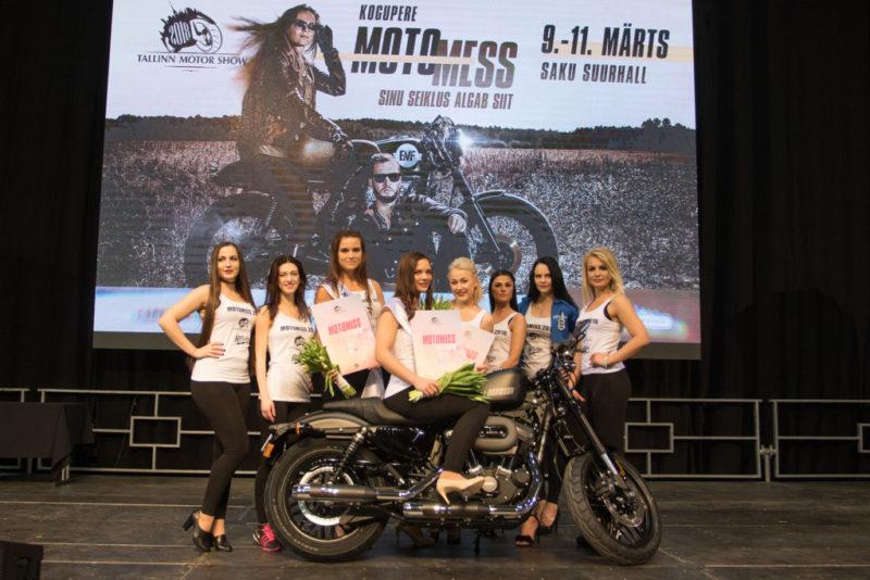 """Laupäeval valiti Tallinn Motor Show'l """"Motomiss 2018"""""""